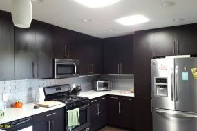 Kitchen with Square Diffuser